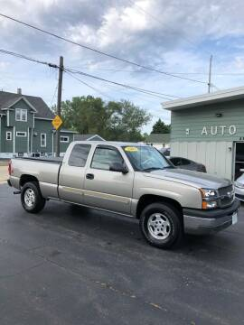 2003 Chevrolet Silverado 1500 for sale at SHEFFIELD MOTORS INC in Kenosha WI
