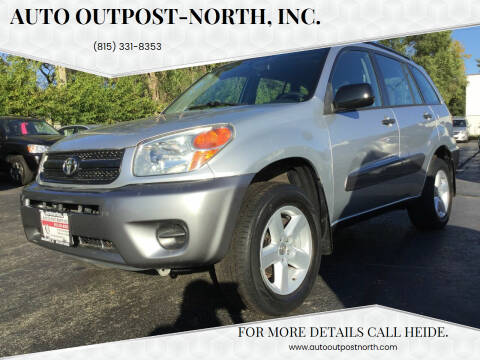2005 Toyota RAV4 for sale at Auto Outpost-North, Inc. in McHenry IL