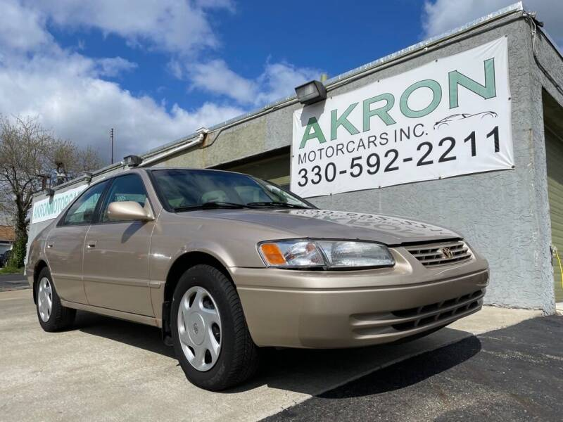 1998 Toyota Camry for sale at Akron Motorcars Inc. in Akron OH