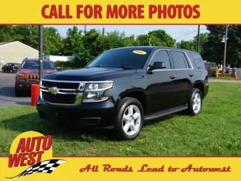2016 Chevrolet Tahoe for sale at Autowest Allegan in Allegan MI