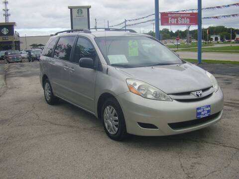 2008 Toyota Sienna for sale at East Town Auto in Green Bay WI