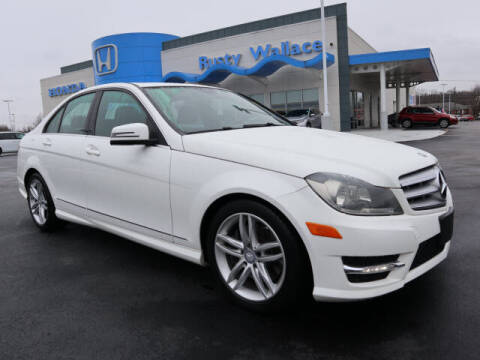 2013 Mercedes-Benz C-Class for sale at RUSTY WALLACE HONDA in Knoxville TN