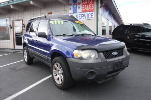 2006 Ford Escape for sale at 777 Auto Sales and Service in Tacoma WA