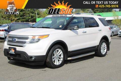 2013 Ford Explorer for sale at Del Sol Auto Sales in Everett WA