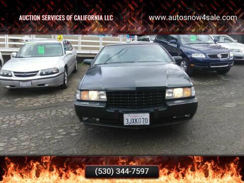 1994 Cadillac Seville for sale at AUCTION SERVICES OF CALIFORNIA in El Dorado CA