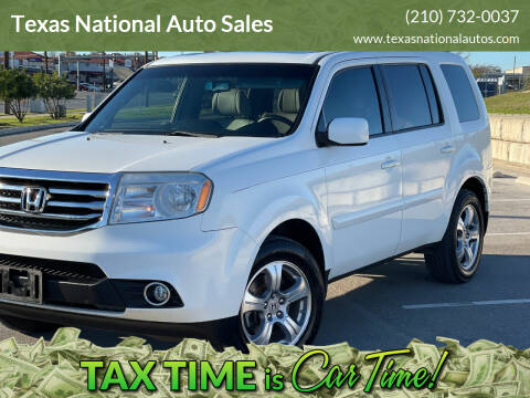 2012 Honda Pilot for sale at Texas National Auto Sales in San Antonio TX