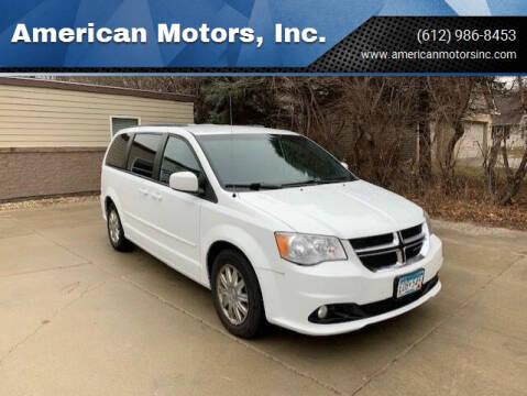 2016 Dodge Grand Caravan for sale at American Motors, Inc. in Farmington MN