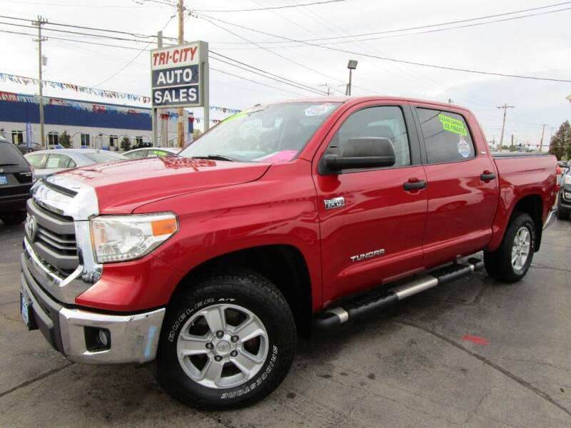 2014 Toyota Tundra for sale at TRI CITY AUTO SALES LLC in Menasha WI