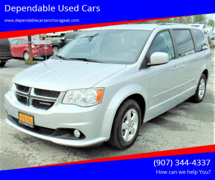 2011 Dodge Grand Caravan for sale at Dependable Used Cars in Anchorage AK
