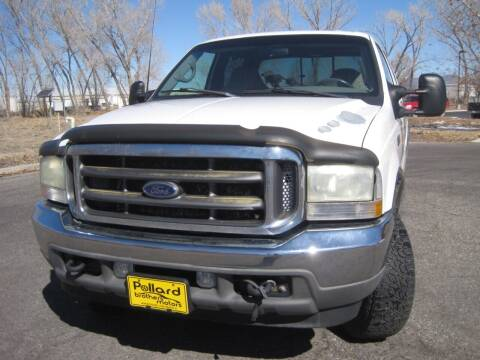 2002 Ford F-250 Super Duty for sale at Pollard Brothers Motors in Montrose CO