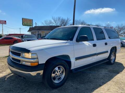 2003 Chevrolet Suburban for sale at Texas Select Autos LLC in Mckinney TX