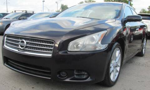 2010 Nissan Maxima for sale at Express Auto Sales in Lexington KY