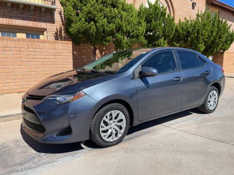2017 Toyota Corolla for sale at Freedom  Automotive in Sierra Vista AZ