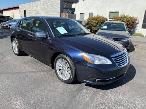 2012 Chrysler 200 for sale at Brown & Brown Wholesale in Mesa AZ