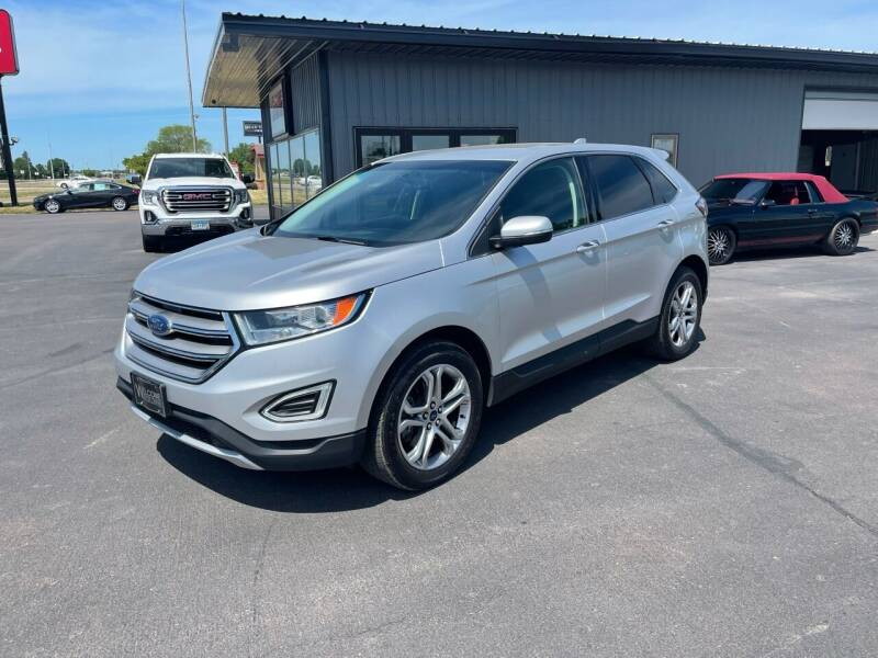 2016 Ford Edge for sale at Welcome Motor Co in Fairmont MN