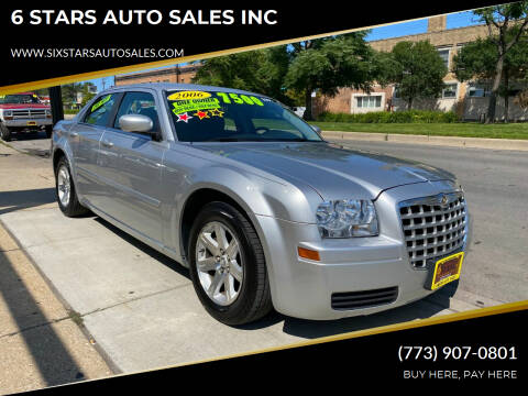 2006 Chrysler 300 for sale at 6 STARS AUTO SALES INC in Chicago IL