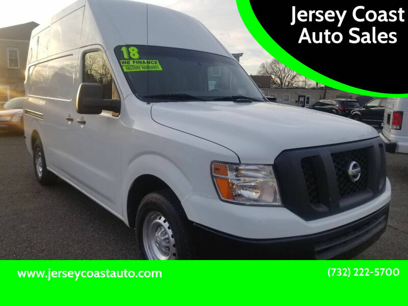 2018 Nissan NV Cargo for sale at Jersey Coast Auto Sales in Long Branch NJ