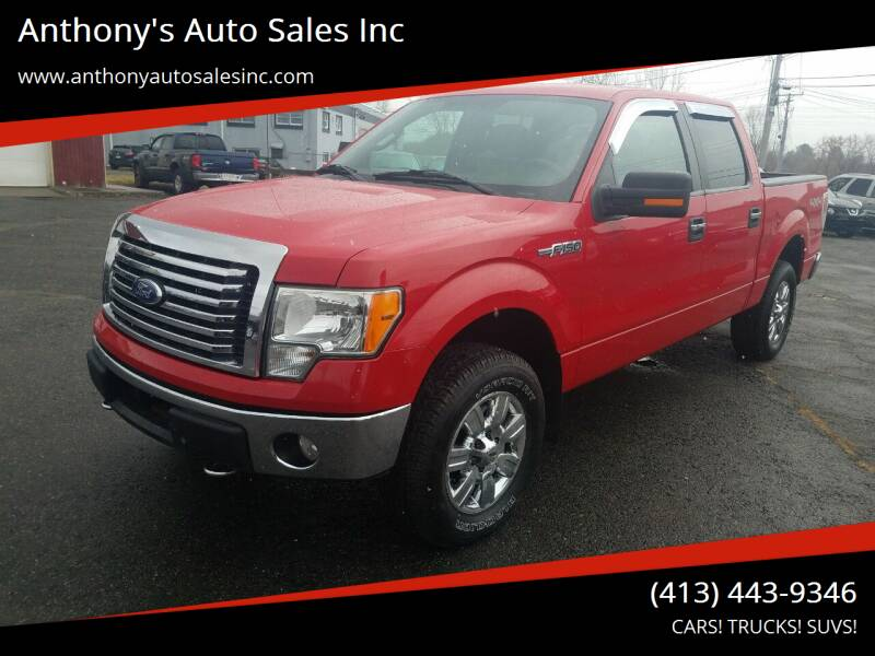 2010 Ford F-150 for sale at Anthony's Auto Sales Inc in Pittsfield MA