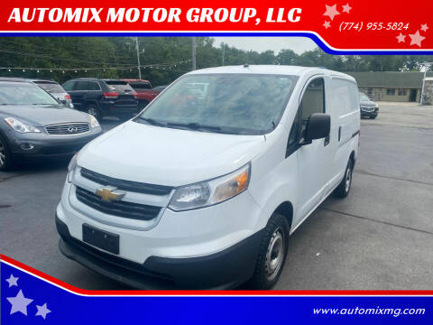 2015 Chevrolet City Express Cargo for sale at AUTOMIX MOTOR GROUP, LLC in Swansea MA