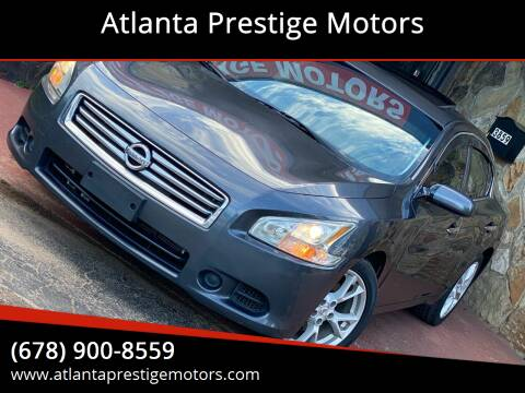 2012 Nissan Maxima for sale at Atlanta Prestige Motors in Decatur GA