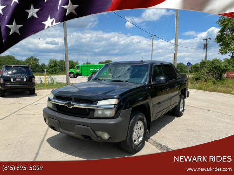 2004 Chevrolet Avalanche for sale at Newark Rides in Newark IL