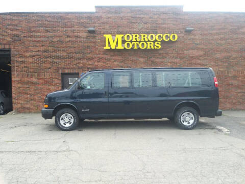 2005 Chevrolet Express Passenger for sale at Morrocco Motors in Erie PA