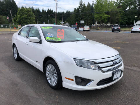 2010 Ford Fusion Hybrid for sale at Freeborn Motors in Lafayette, OR