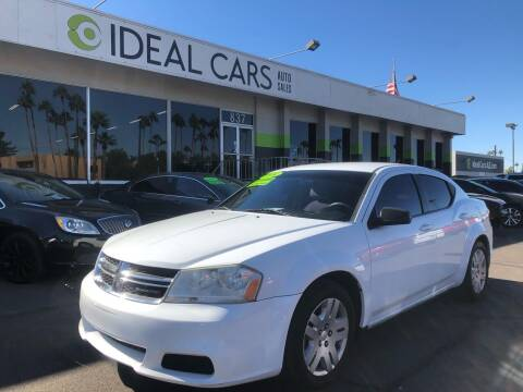 2014 Dodge Avenger for sale at Ideal Cars in Mesa AZ