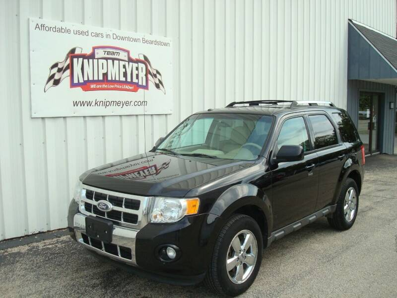 2010 Ford Escape for sale at Team Knipmeyer in Beardstown IL