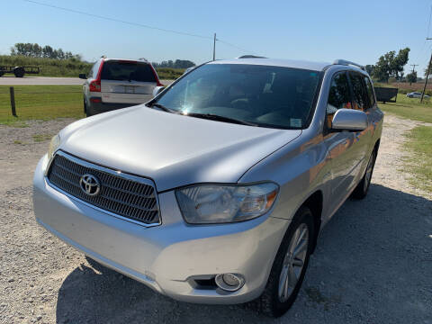 2009 Toyota Highlander Hybrid for sale at Southtown Auto Sales in Whiteville NC