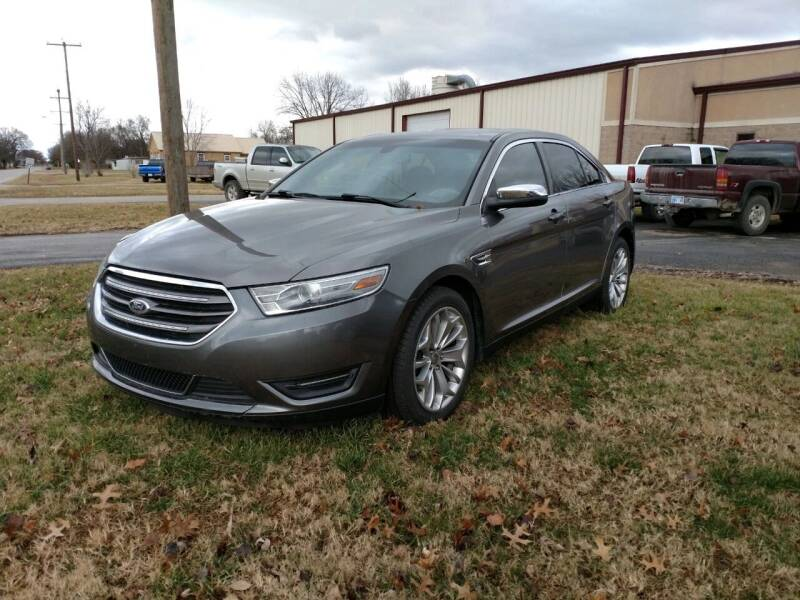2014 Ford Taurus for sale at KW TRUCKING OF KS in Saint Paul KS