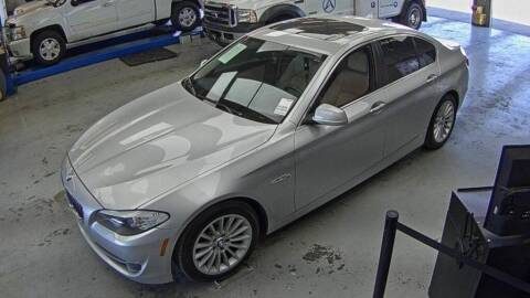 2013 BMW 5 Series for sale at Smart Chevrolet in Madison NC