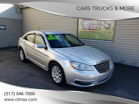 2011 Chrysler 200 for sale at Cars Trucks & More in Howell MI