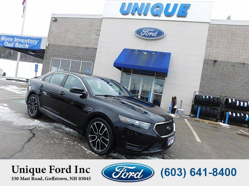 2018 Ford Taurus for sale at Unique Motors of Chicopee - Unique Ford in Goffstown NH