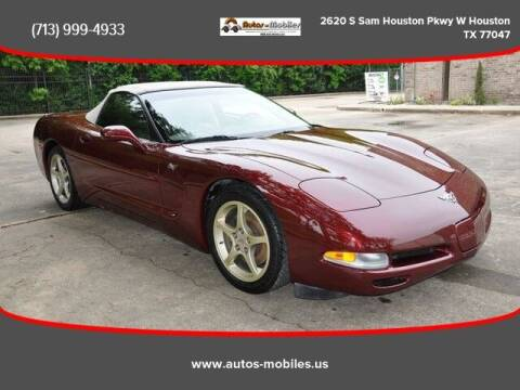 2003 Chevrolet Corvette for sale at AUTOS-MOBILES in Houston TX