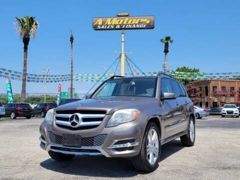 2015 Mercedes-Benz GLK for sale at A MOTORS SALES AND FINANCE in San Antonio TX