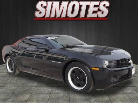 2013 Chevrolet Camaro for sale at SIMOTES MOTORS in Minooka IL