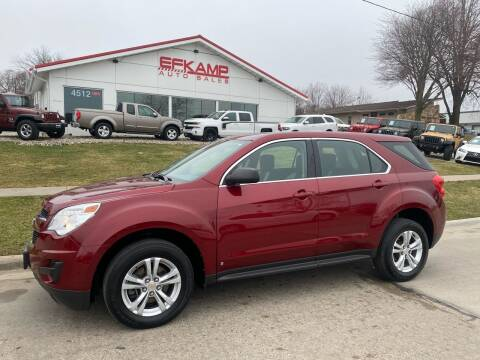 2010 Chevrolet Equinox for sale at Efkamp Auto Sales LLC in Des Moines IA