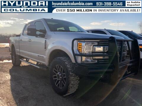 2017 Ford F-250 Super Duty for sale at Hyundai of Columbia Con Alvaro in Columbia TN