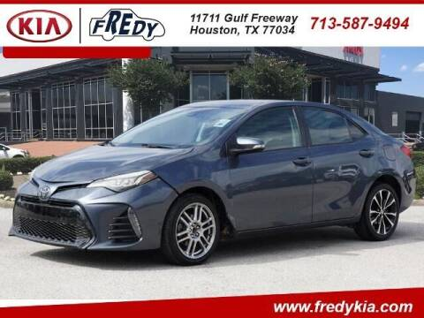 2019 Toyota Corolla for sale at FREDY KIA USED CARS in Houston TX