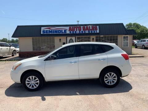 2010 Nissan Rogue for sale at Seminole Auto Sales in Seminole OK