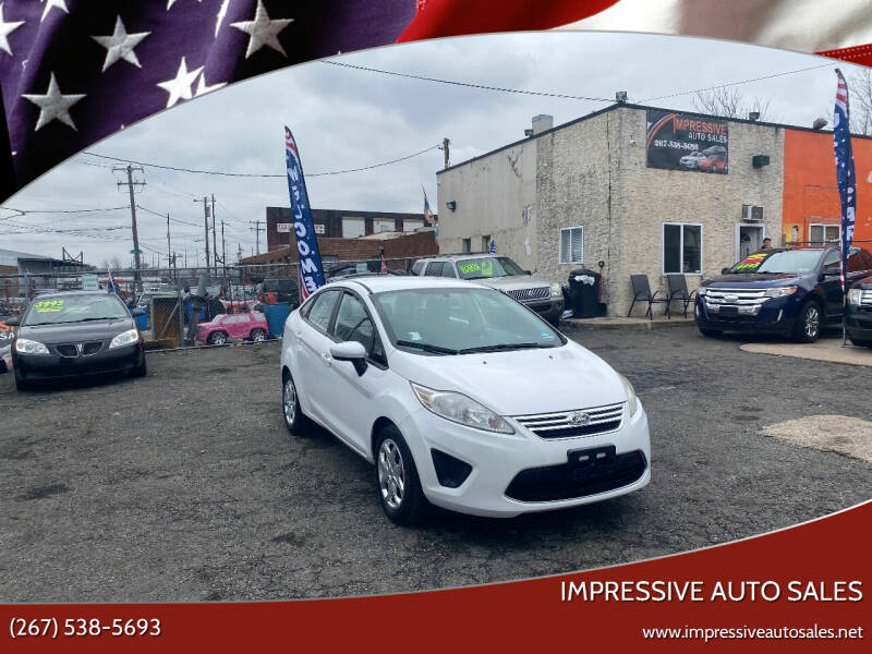 2011 Ford Fiesta for sale at Impressive Auto Sales in Philadelphia PA