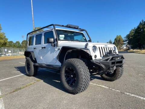 2010 Jeep Wrangler Unlimited for sale at Sunset Auto Wholesale in Tacoma WA