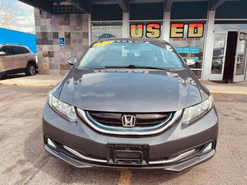 2013 Honda Civic for sale at Daniel Auto Sales inc in Clinton Township MI
