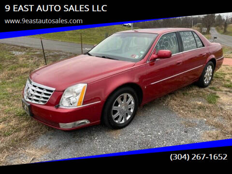 2007 Cadillac DTS for sale at 9 EAST AUTO SALES LLC in Martinsburg WV