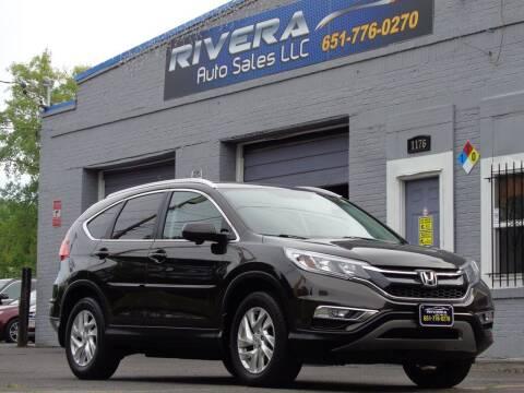 2015 Honda CR-V for sale at Rivera Auto Sales LLC in Saint Paul MN