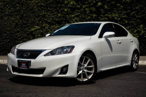 2013 Lexus IS 250 for sale at 605 Auto  Inc. in Bellflower CA