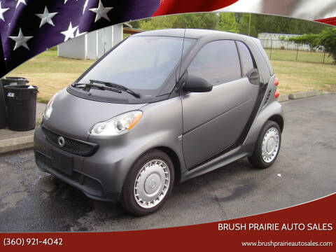 2013 Smart fortwo for sale at Brush Prairie Auto Sales in Battle Ground WA
