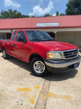 2002 Ford F-150 for sale at PITTMAN MOTOR CO in Lindale TX