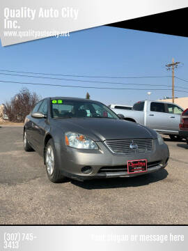2003 Nissan Altima for sale at Quality Auto City Inc. in Laramie WY